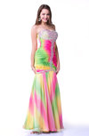 Cute Fit-n-Flare Sleeveless Half Backless Floor Length Plus Size Prom Dresses
