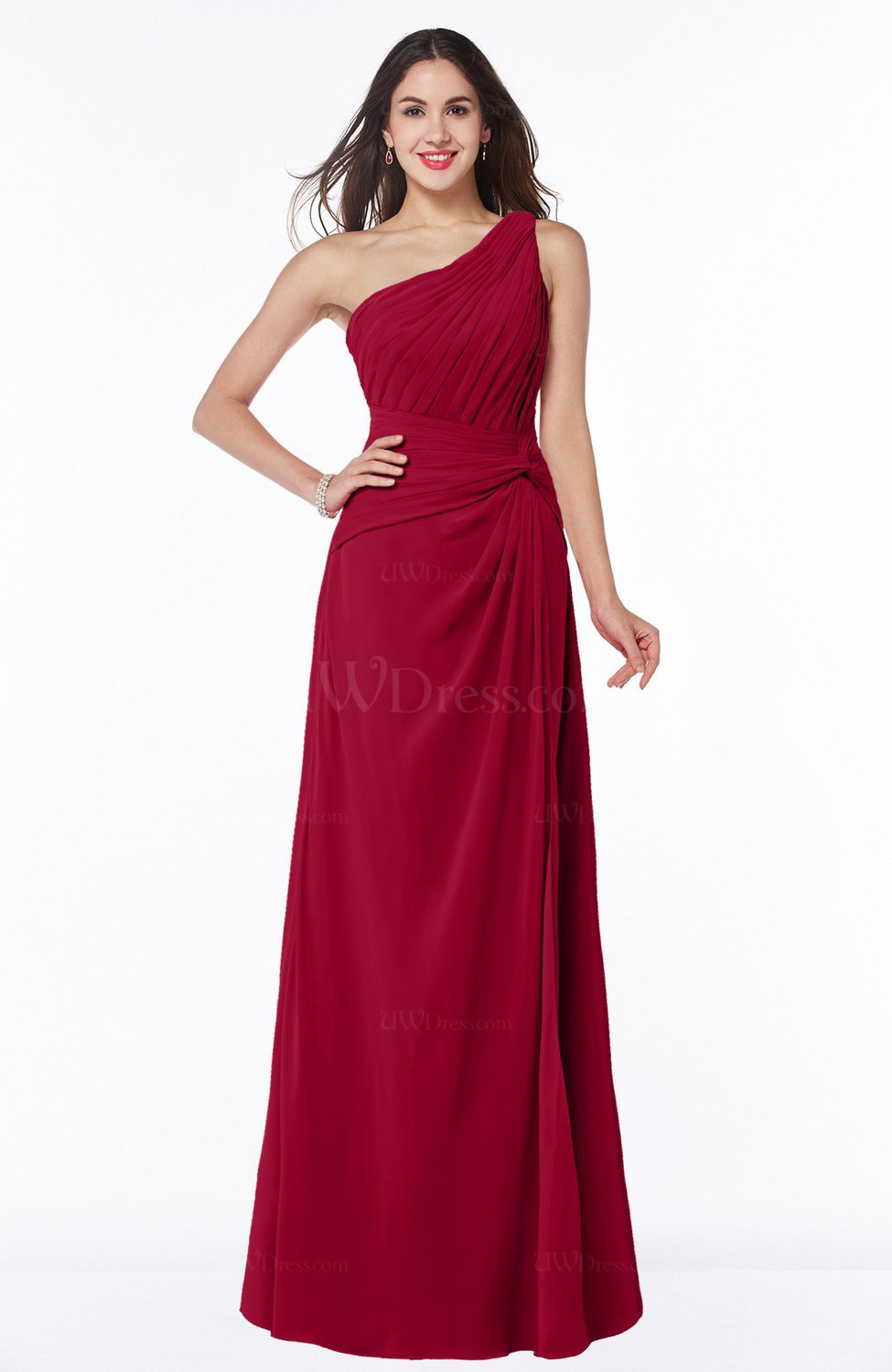 Dark red plus size bridesmaid dresses discount wedding for Best place to buy cheap wedding dress