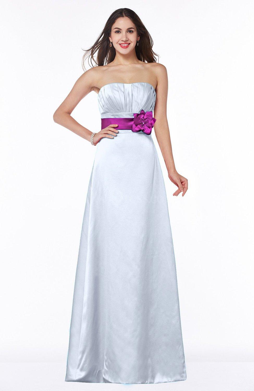 Silver disney princess a line sleeveless half backless for Disney line wedding dresses