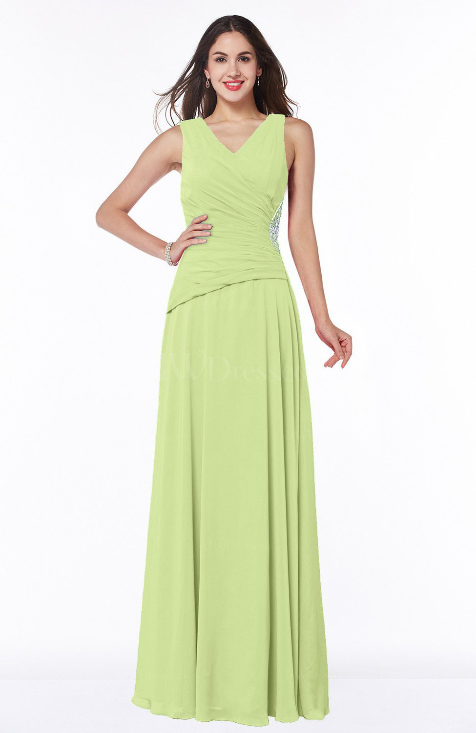 Lime Green Club Dresses Lime Green Trad...