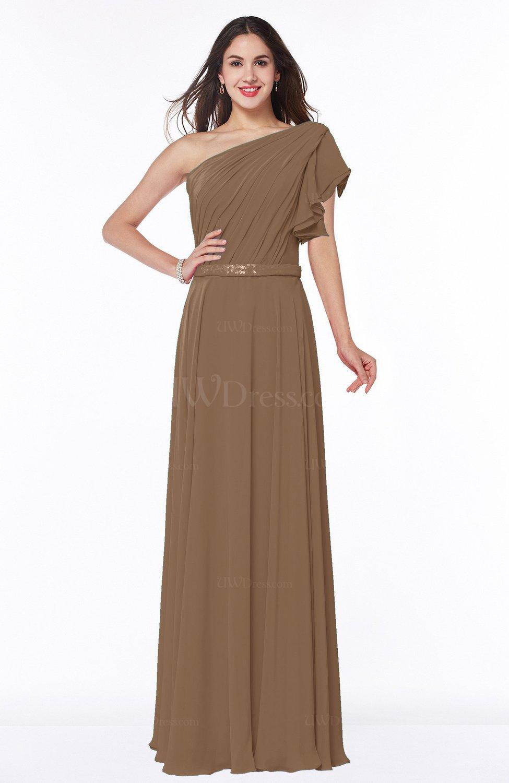 Cheap Bridesmaid Dresses Color Truffle Wedding Dresses