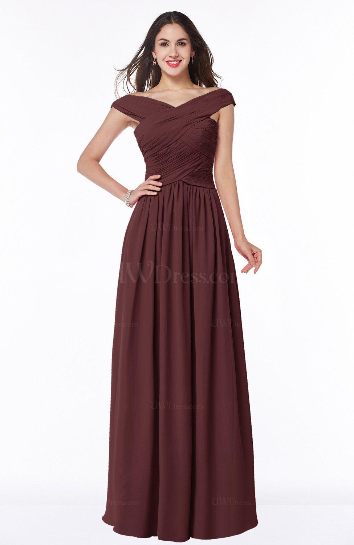 Burgundy traditional a line sleeveless chiffon floor for Burgundy wedding dresses plus size