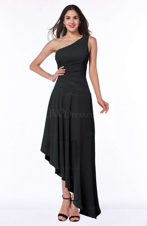 Fashion style Black Simple dress plus size for woman