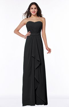 Black bridesmaid dresses for plus sizes