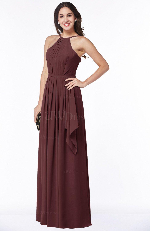 Burgundy gorgeous a line spaghetti sleeveless zipper for Burgundy wedding dresses plus size