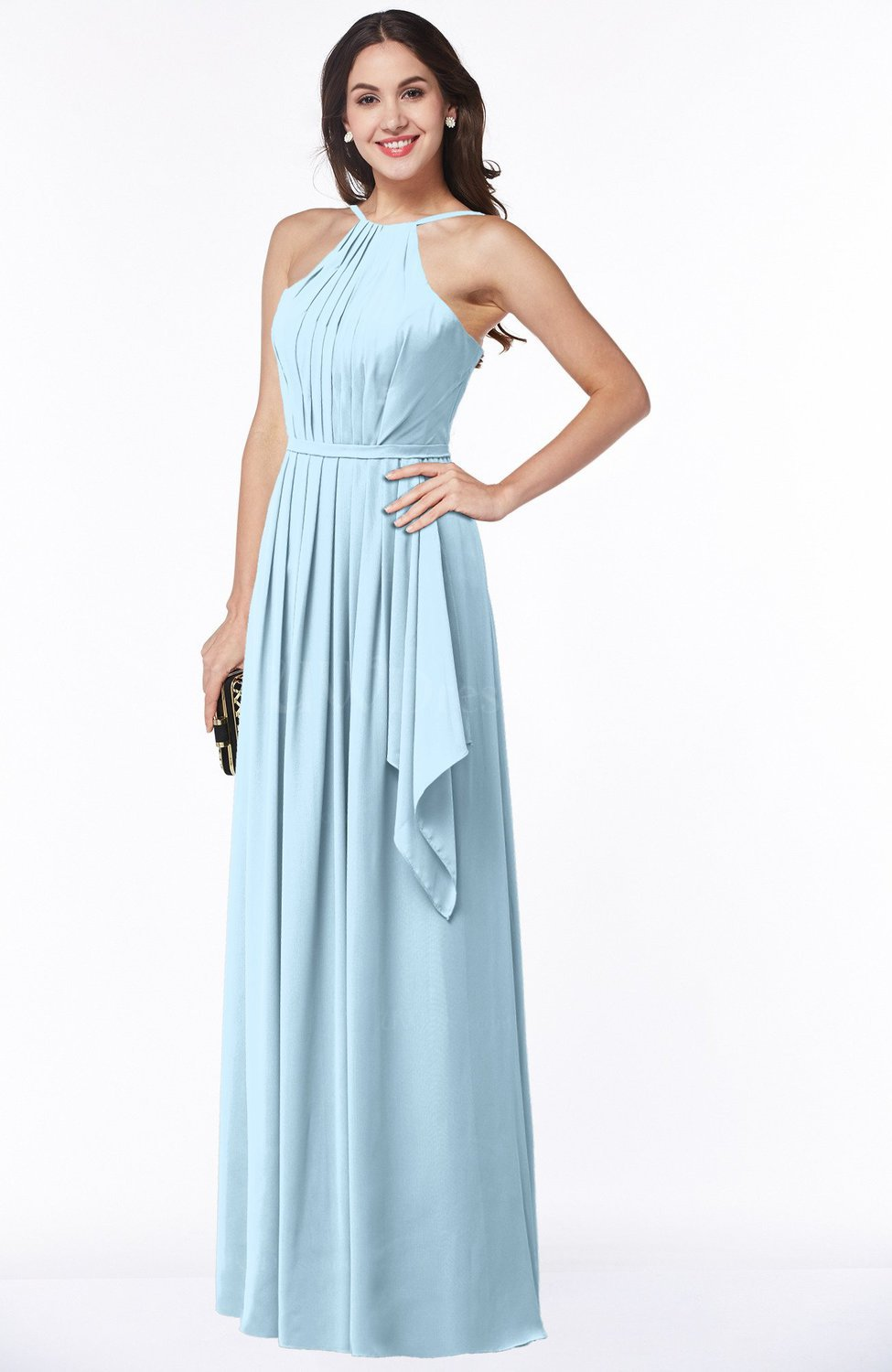 Mother of the Bride Ice Blue color - UWDress.com