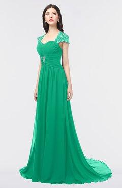 Sea Colored Prom Dresses
