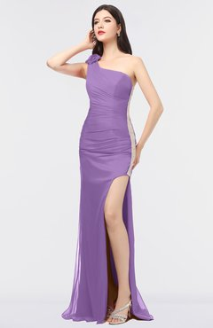 Hyacinth color dress