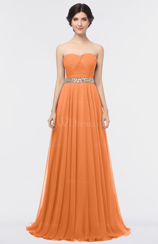 Mango Mature A-line Sleeveless Floor Length Ruching Prom Dresses ...
