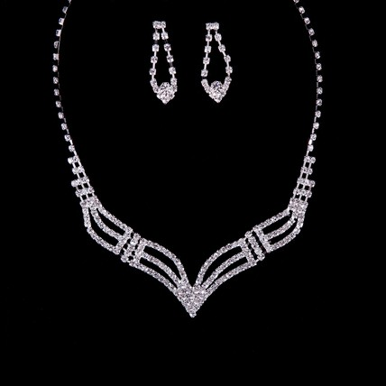 Jewelry Sets Chain Necklaces Engagement Rhinestones Amazing