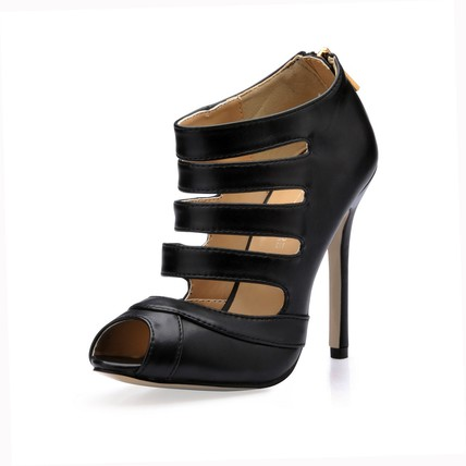 Open Toe Sandals Hollow-Out Girls' Party & Evening Cone Heel Average