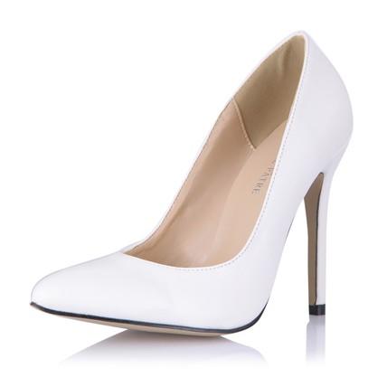 Wedding Wedding Shoes Pumps/Heels Narrow PU Girls' Stiletto Heel