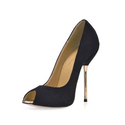 Stretch Velvet Pumps/Heels Women's Average Round Toe Stiletto Heel Party & Evening