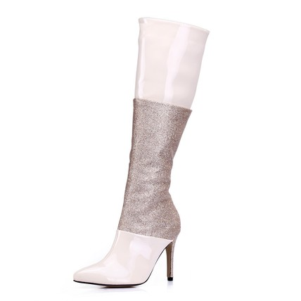 Sequined Cloth/Sparkling Glitter Wedding Shoes Party & Evening Average Pumps/Heels Girls' Sparkling Glitter