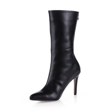 Zipper Pumps/Heels Women's Pointed Toe Average Stiletto Heel Office & Career