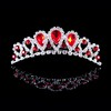 Rhinestones Tiaras Shining Birthday Headpieces