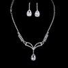 Jewelry Sets Chain Necklaces Rhinestones Beautiful Anniversary