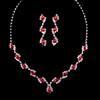 Wedding Drop Earrings Fancy Claw Chains Jewelry Sets