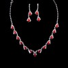 Luxurious Pendant Necklaces Jewelry Sets Claw Chains Anniversary