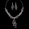 Hottest Drop Earrings Jewelry Sets Rhinestones Anniversary