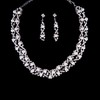 Engagement Chain Necklaces High Quality Jewelry Sets Imitation Pearl