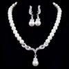 Charming/Glamourous Pendant Necklaces Wedding Imitation Pearl Jewelry Sets