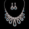 Jewelry Sets Pendant Necklaces Rhinestones Gorgeous Wedding