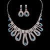 Jewelry Sets Pendant Necklaces Rhinestones Gorgeous Wedding