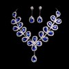 Beautiful Drop Earrings Rhinestones Gift Jewelry Sets
