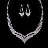 Fancy Drop Earrings Alloy Jewelry Sets Wedding