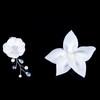 Party Flowers Satin Headpieces Attractive