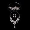 Jewelry Sets Drop Earrings Elegant Wedding Alloy