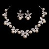 Jewelry Sets Chain Necklaces Exquisite Imitation Pearl Engagement
