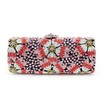 Metal Clutches Detachable Strap Charming Crystal/Rhinestone