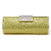 Crystal/Rhinestone Clutches Unique Single Strap Satin