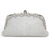 Chain Top Handle Bags Metal Crystal/Rhinestone Fashional