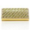 Crystal/Rhinestone Wallets Classic PU Single Strap