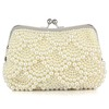 Imitation Pearl Bridal Purse Lady Imitation Pearl Single Strap
