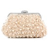 Detachable Strap Clutches Crystal/Rhinestone Imitation Pearl Gorgeous