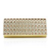 Crystal/Rhinestone Clutches Single Strap Elegant Satin