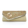Crystal/Rhinestone Bridal Purse Satin Detachable Strap Fashional