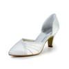 Ruched Pumps/Heels Cone Heel Dress Women's Average Closed Toe
