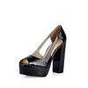 Women's Sandals Average Pumps/Heels Hollow-Out PU Dress