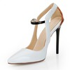 Cone Heel Wedding Shoes Pumps/Heels Buckle Patent Leather Average Girls'