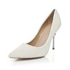 Patent Leather Pumps/Heels Average Chain Casual Girls' Cone Heel