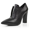 Bootie Pumps/Heels Average Party & Evening Genuine Leather Square Heel Women's