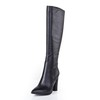 Knee High Boots Pumps/Heels Girls' Cow Leather Average Zipper Graduation