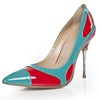 Chain Pumps/Heels Patent Leather Girls' Office & Career Closed Toe Average