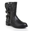 Boots Flats Genuine Leather Outdoor Average Low Heel Women's