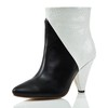 Pumps/Heels Boots Split Joint Average Booties/Ankle Boots Graduation Genuine Leather